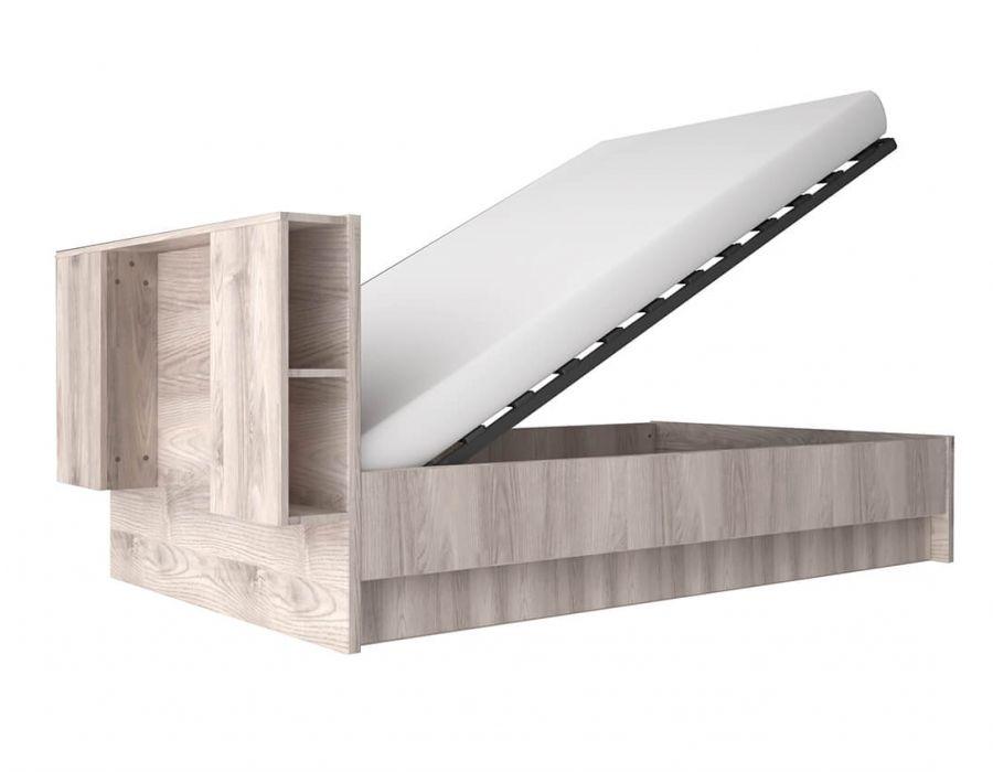Кровать с подъемником Анрэкс Джаз каштан 160 С, каштан найбори