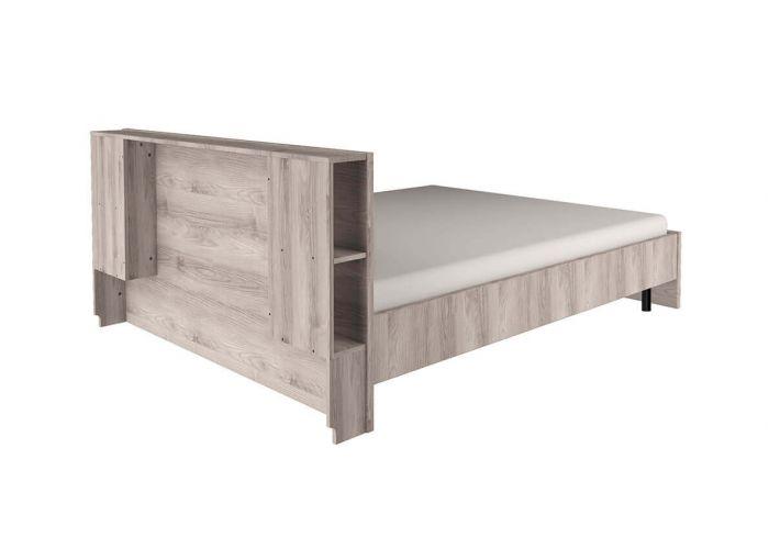Кровать Анрэкс Джаз каштан 140 P, каштан найбори