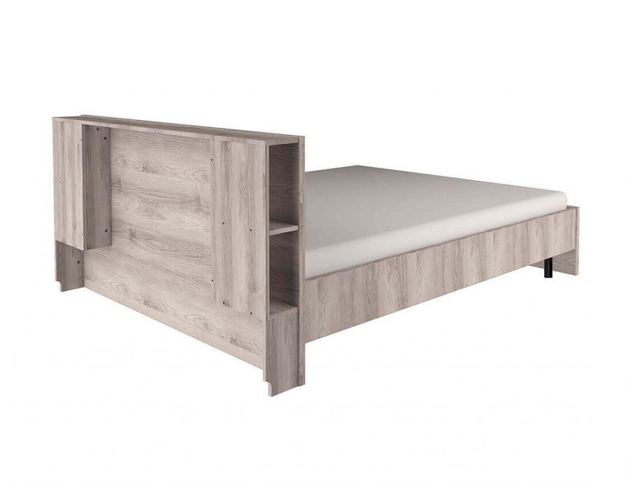 Кровать с подъемником Анрэкс Джаз каштан 140 P, каштан найбори