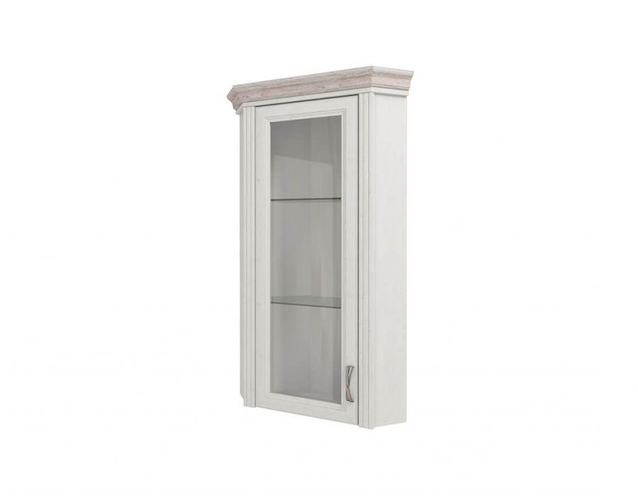 Шкаф с витриной Анрэкс Монако 1VU, дуб