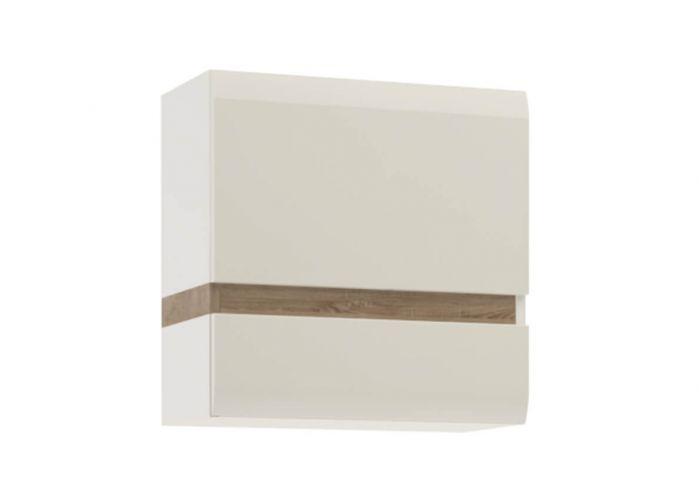 Шкаф навесной Анрэкс Линэйт 1D / TYP, белый