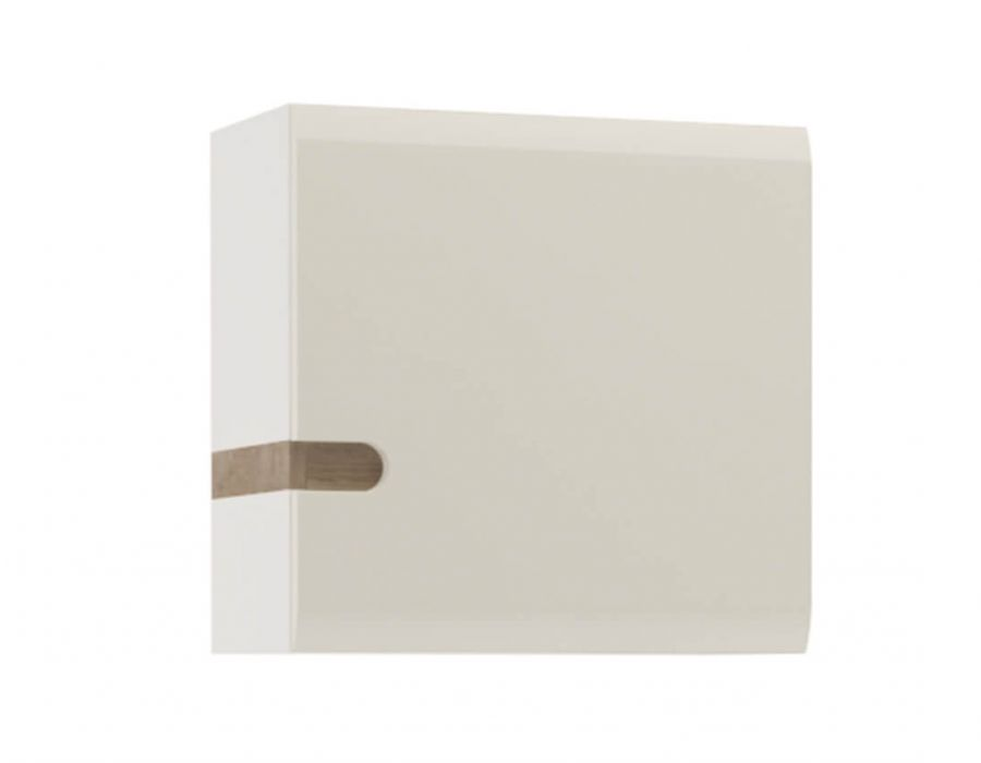 Шкаф навесной Анрэкс Линэйт 1D / TYP 65, белый