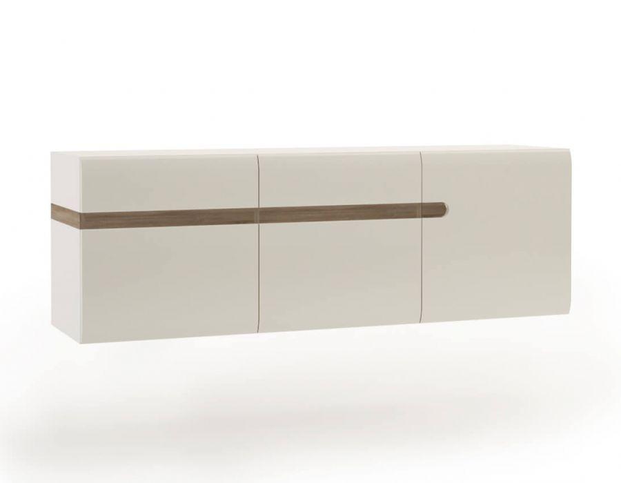 Шкаф навесной Анрэкс Линэйт 3D / TYP 67, белый