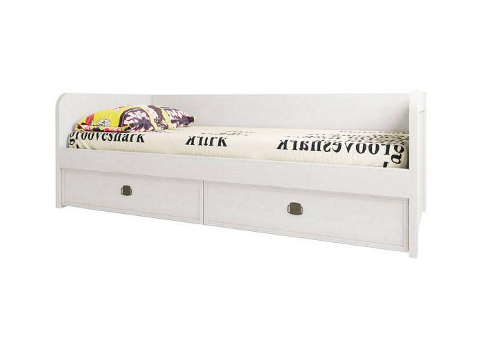 Кровать Анрэкс Магелан сосна 90-2, белый