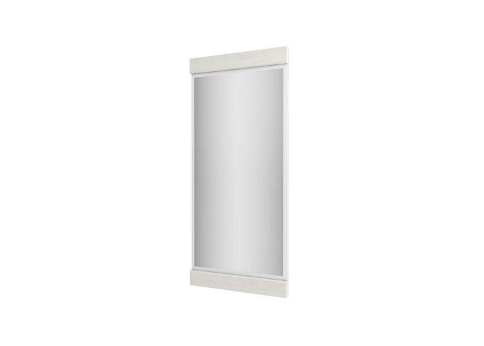 Зеркало навесное Анрэкс Магелан сосна 40, белый