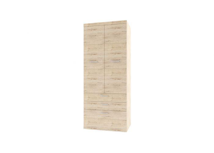 Шкаф 2D3S Оскар , цвет дуб Санремо
