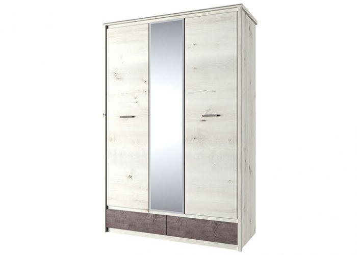 Шкаф 3DG2S Z, BJORK, цвет ольха полярная/оникс, шт