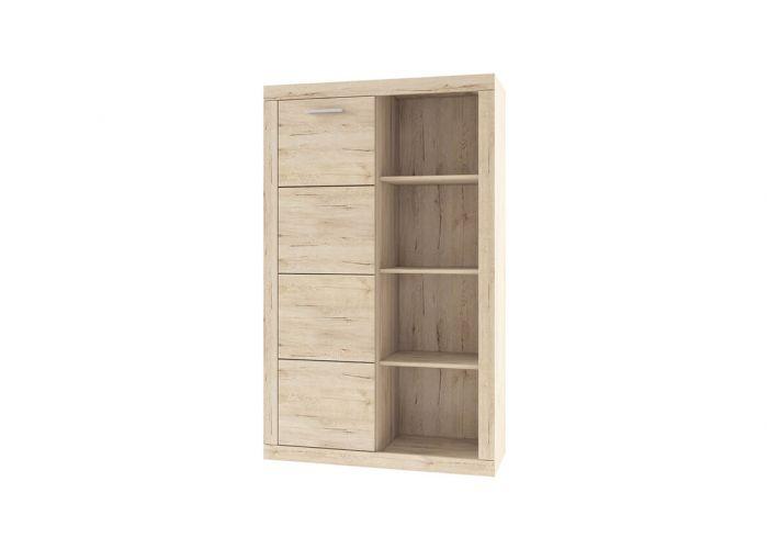 Шкаф комбинированный 1D OSKAR , цвет дуб Санремо