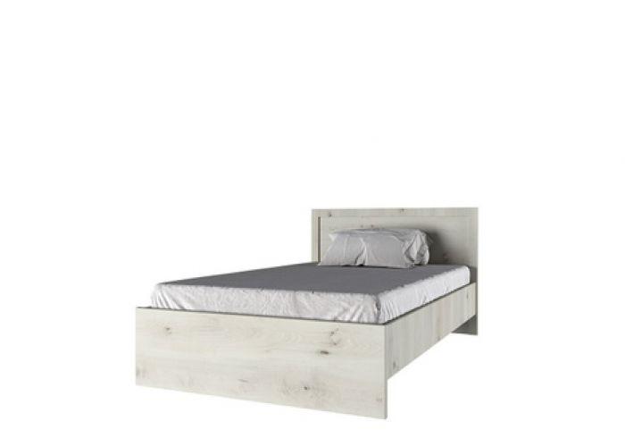 Кровать 120 , BJORK, цвет ольха полярная, шт