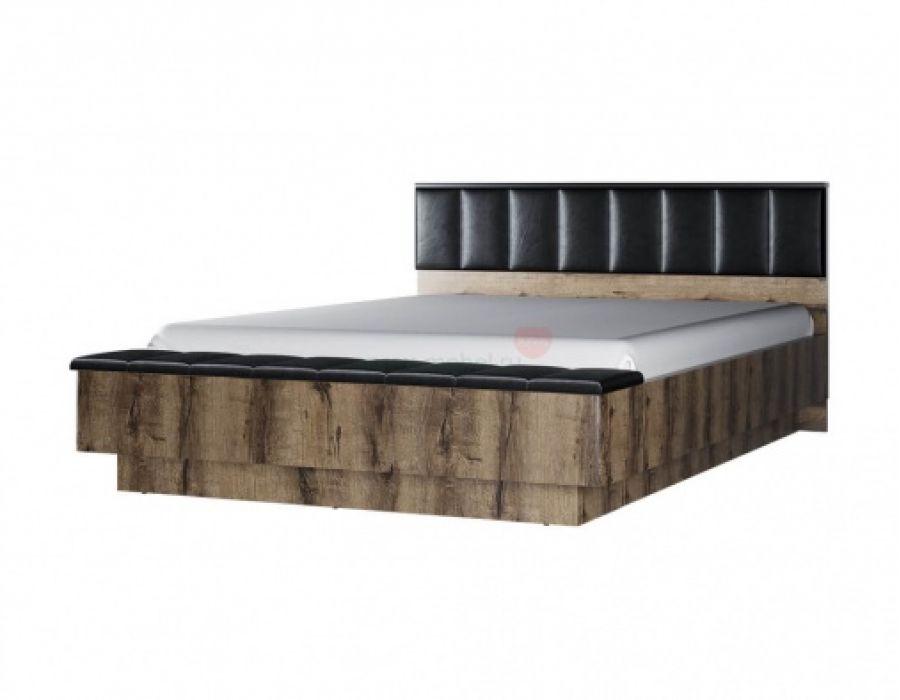 Кровать с  подъемником Анрэкс Джаггер 160 м, дуб