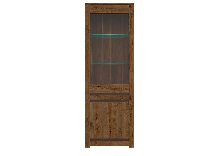 008-1 Када шкаф S404-REG1W1D с подсветкой Дуб April /BRW