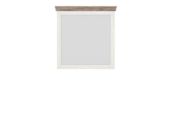 Зеркало Marselle LUS/98 ясень снежный / дуб сонома темный