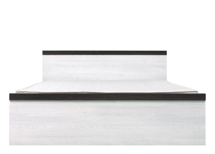 Кровать двуспальная Порто LOZ/160 без основания (сосна ларико/джанни)