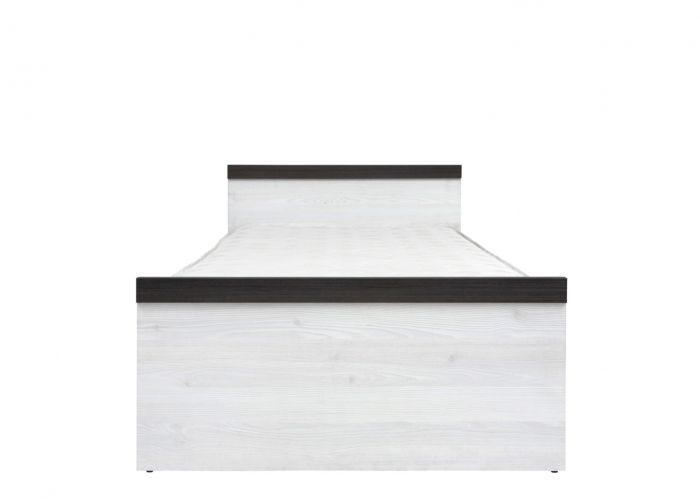 Кровать односпальная Порто LOZ/90 с основанием (сосна ларико/джанни)
