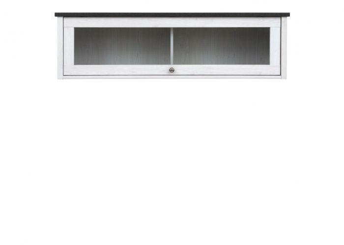 Полка-витрина Порто SFW1W (сосна ларико/джанни)