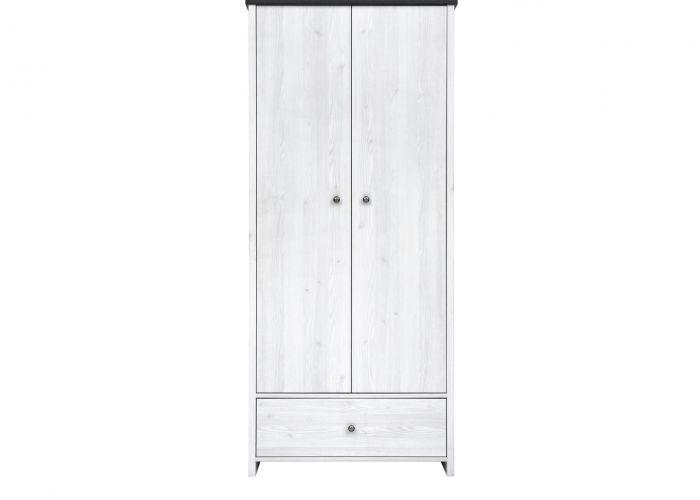 Шкаф 2-х створчатый платяной Порто SZF2D1S (сосна ларико/джанни)