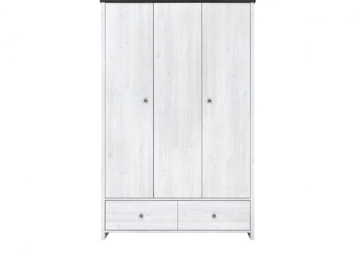 Шкаф 3-х створчатый платяной Порто SZF3D2S (сосна ларико/джанни)
