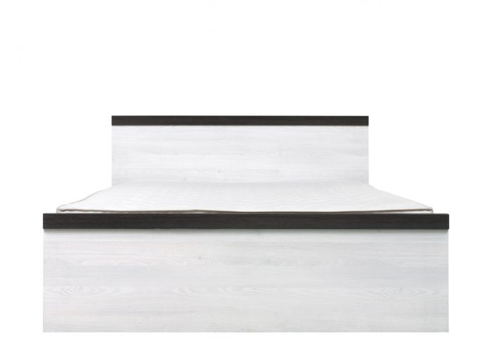 Кровать двуспальная Порто LOZ/140 без основания (сосна ларико/джанни)