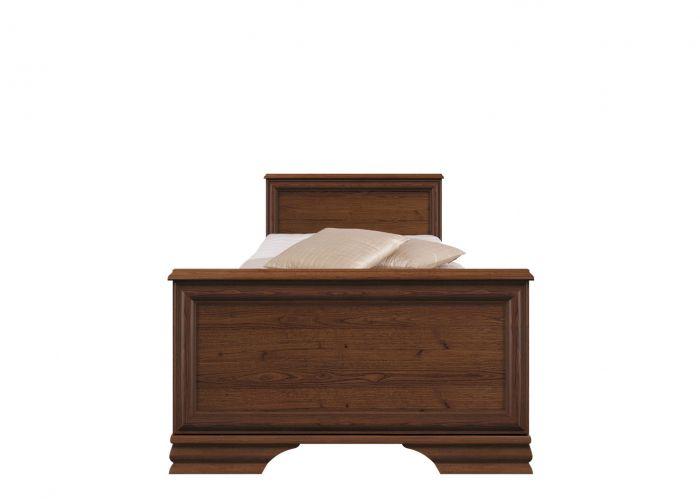 Кровать односпальная  Kentaki, loz/90, каштан без основания