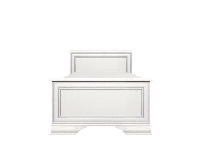 Кровать односпальная  Kentaki, loz/90, белый без основания
