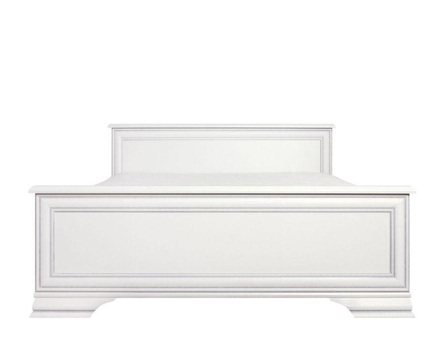Кровать Кентаки, loz/140, белый с основанием