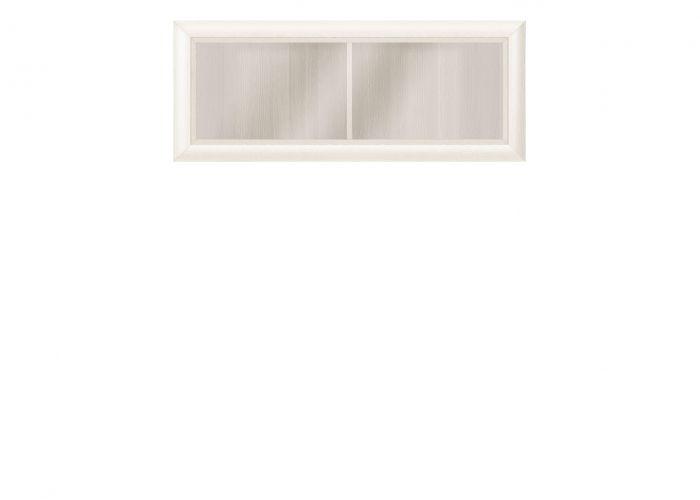 003-1 Коен шкаф навесной SFW1W/103 Ясень снежный/Сосна натуральная /BRW