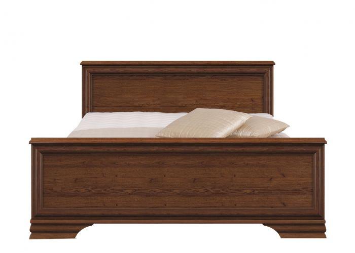 Кровать двуспальная Kentaki, loz/160, каштан без основания