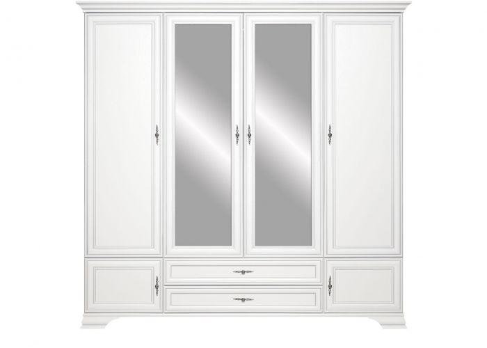 Шкаф четырёхстворчатый Кентаки, szf6d2s, белый