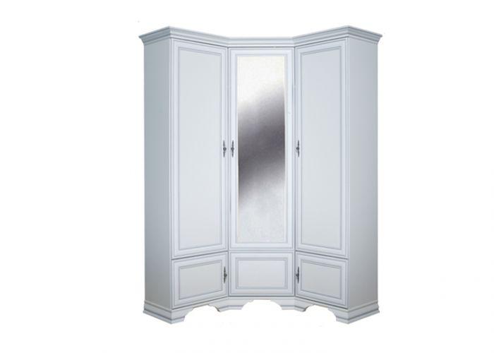 Шкаф угловой Кентаки, szfn5d, белый