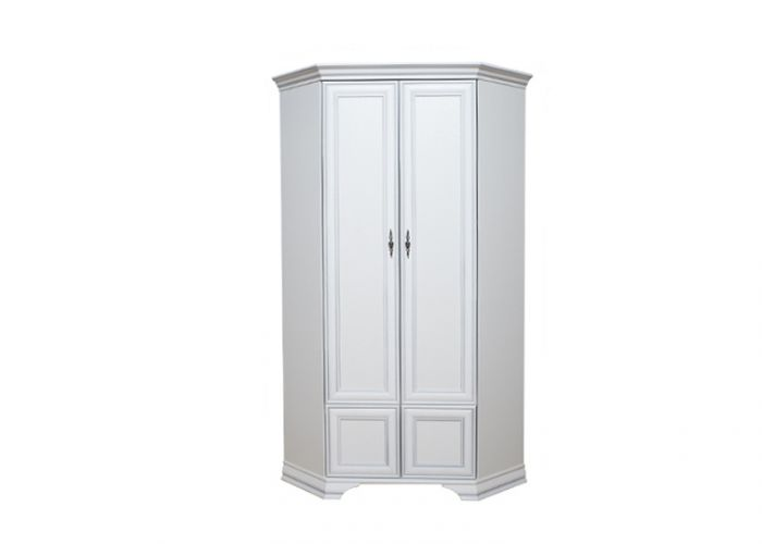 Шкаф угловой Кентаки, szfn2d, белый