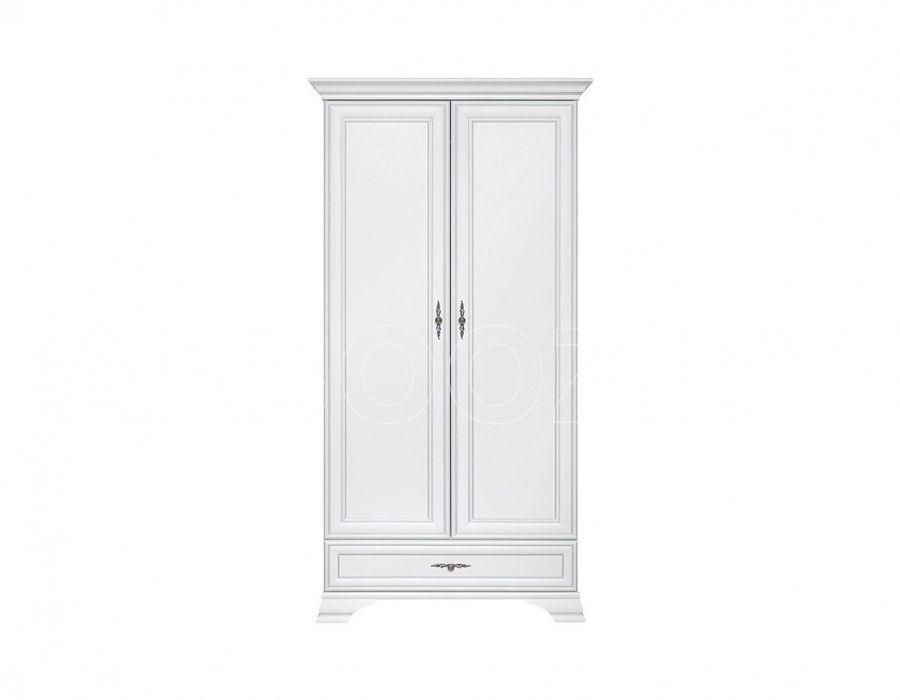 Шкаф 2-х створчатый Кентаки, szf2d1s, белый