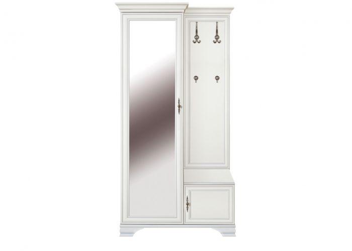 Шкаф с вешалкой Kentaki, ppk/110l, белый