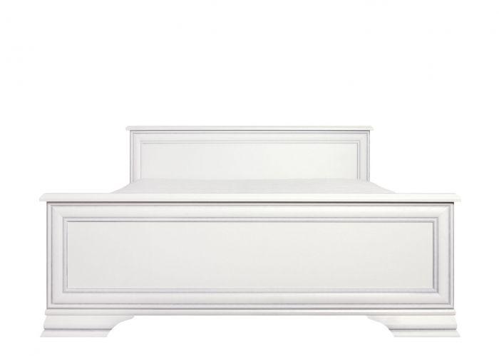 Кровать двуспальная Кентаки, loz/160, белый с основанием