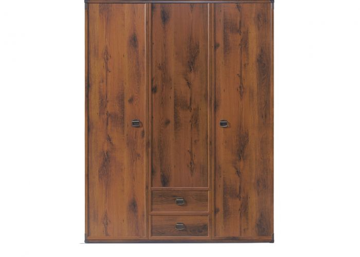 Шкаф 3-х створчатый Indiana  jszf 3d2s, дуб саттер