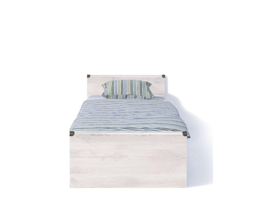 Кровать односпальная Индиана jloz90 без матраса,сосна каньон с основанием