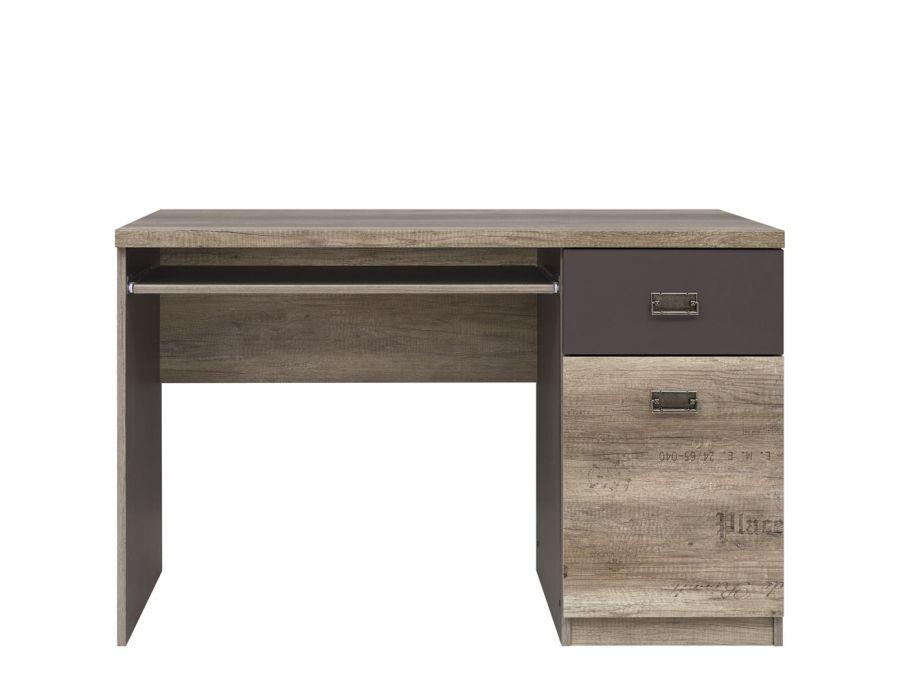 002 Малколм стол письменный S325-BIU120 Дуб каньон монумент/Серый вольфрам /BRW
