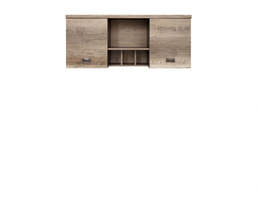 001 Малколм шкаф навесной S325-SFW2D Дуб каньон монумент/Серый вольфрам /BRW