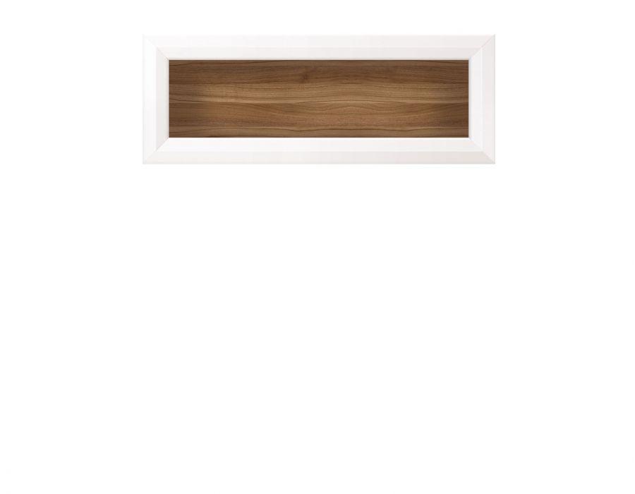 Шкаф навесной Мальта SFW/11, лиственница сибирская / орех лион