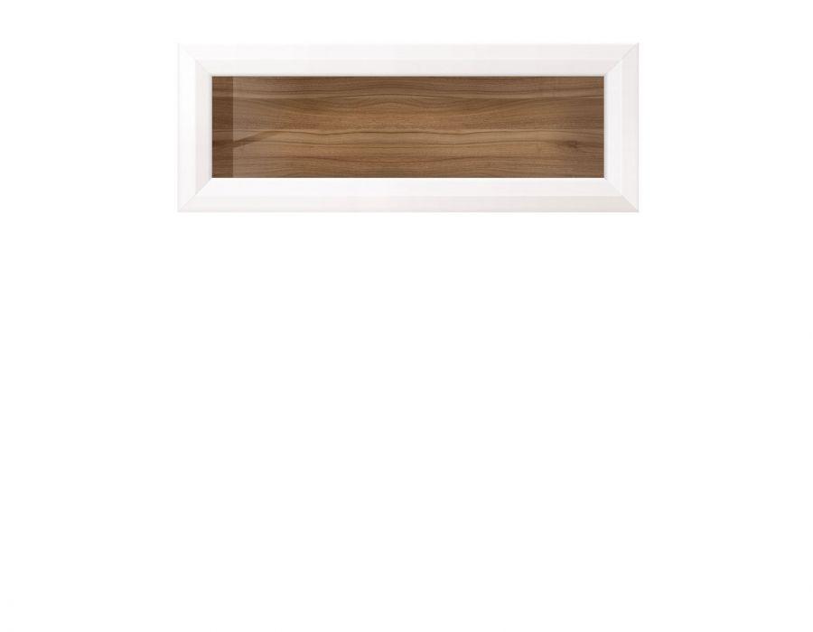 Шкаф навесной Мальта SFW1W/11, лиственница сибирская / орех лион