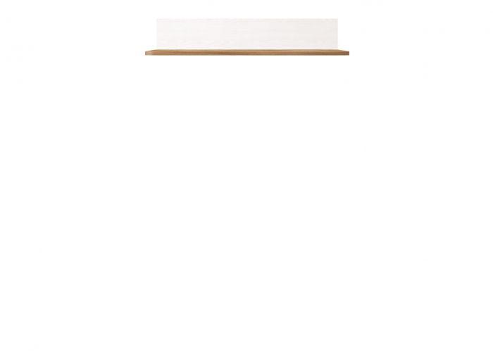 Полка Мальта P/11, лиственница сибирская / орех лион