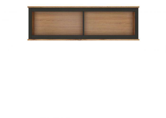 12Н.м. LOFT шкаф навесной SFW/130Дуб вотан/ Черный