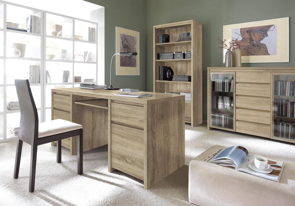 мебель для кабинета каспиан дуб сонома
